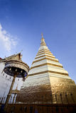 The golden pagoda. Stock Images