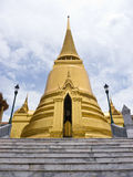 Golden pagoda Royalty Free Stock Images