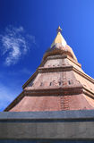 The golden pagoda Stock Photography