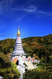 The golden pagoda royalty free stock image