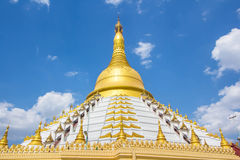Golden pagoda Bago Myanmar. Royalty Free Stock Images