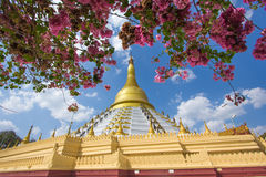 Golden pagoda Bago Myanmar. Stock Images
