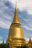 Golden pagoda in Bangkok Stock Images