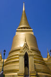 Golden pagoda in Bangkok Stock Photos