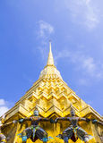Golden pagoda Stock Photos