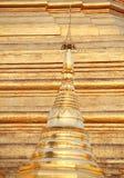 Golden pagoda Royalty Free Stock Photo