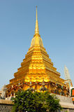Golden pagoda in the Grand palace area Royalty Free Stock Photo