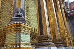 A golden pagoda, Grand Palace, Bangkok, Thailand Stock Images