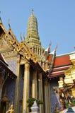 Golden pagoda in Grand Palace, Bangkok Royalty Free Stock Image