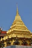 Golden pagoda in Grand Palace, Bangkok Royalty Free Stock Images
