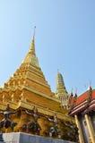 Golden pagoda in Grand Palace, Bangkok Royalty Free Stock Photography