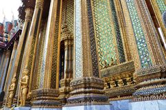 Golden pagoda in Grand Palace, Bangkok Stock Image