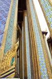 Golden pagoda in Grand Palace, Bangkok Stock Photo
