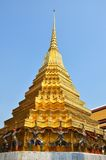Golden pagoda in Grand Palace, Bangkok Stock Photography