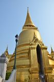 Golden pagoda in Grand Palace, Bangkok Stock Photos