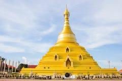 Golden pagoda at Kampangpetch province Stock Images
