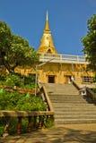 Golden pagoda koh samui Stock Image