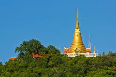 Golden Pagoda on Koh samui Stock Image