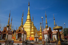 The golden pagoda Stock Images