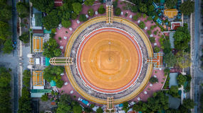 Golden pagoda Phra Pathom Chedi of Nakhon Pathom province Asia T stock photography