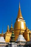 Golden pagoda at Royal Palace, Bangkok. Thailand Royalty Free Stock Images
