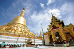Golden pagoda Royalty Free Stock Image