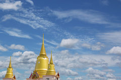 Golden Pagoda Temple Royalty Free Stock Images