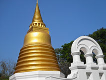 Golden pagoda Thailand Royalty Free Stock Image