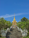 Golden Pagoda Thailand Royalty Free Stock Photo
