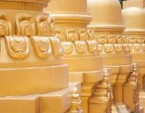 Golden pagoda in Wat Pa Sawang Boon, Thailand Stock Image