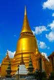 Golden pagoda. In wat phakeaw is landmark famous Stock Photos