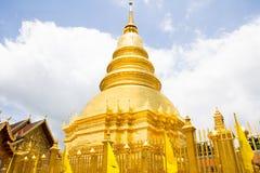 Golden Pagoda Royalty Free Stock Photos