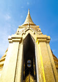 Golden Pagoda at Wat Phra Kaew , bangkok Stock Images