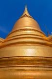 Golden Pagoda at Wat Phra Kaew in Bangkok, Thailand Royalty Free Stock Images