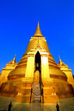 Golden  pagoda Stock Photography