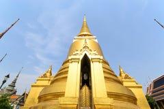 Golden pagoda in Wat Phra Keaw Royalty Free Stock Image