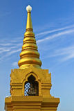 Golden Pagoda at Wat Saket Royalty Free Stock Photography
