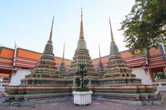 Golden pagoda of Wat Saket Temple. Time lapse of Golden pagoda of Wat Saket Temple / Golden Mount Temple public landmark in Thailand Stock Image