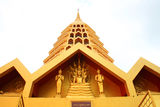 Golden Pagoda, Wat Tha-it Royalty Free Stock Image