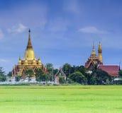 Golden pagoda Royalty Free Stock Photography