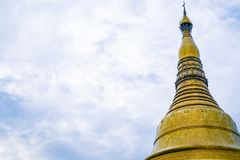 Golden Pagoda Yangon Myanmar South East Asia Stock Image