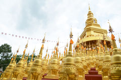 500 golden pagodas Royalty Free Stock Photography