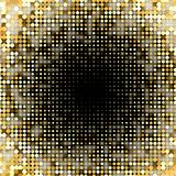 Golden paillettes shiny background royalty free illustration