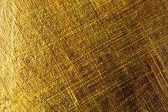 Golden paint background Stock Image