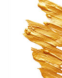 Golden paint Royalty Free Stock Photo