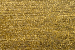 Golden painted background texture Stock Image
