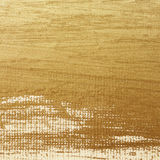 Golden Painting on Canvas. Background Royalty Free Stock Photos