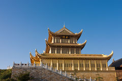 Golden Palace Stock Photo