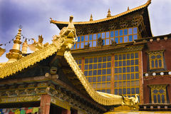 Golden palace Royalty Free Stock Photos