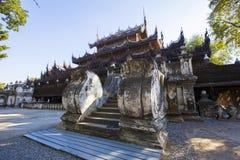 Golden Palace Monastery Shwenandaw Kyaung Royalty Free Stock Image